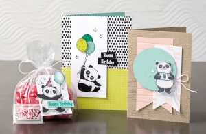 Party Pandas Cards & Tags