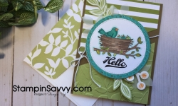 Stampin' Blends with Flying Home