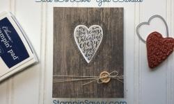 Masculine Valentines Card