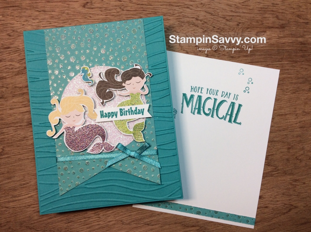 Enchanting Mermaid Birthday Card
