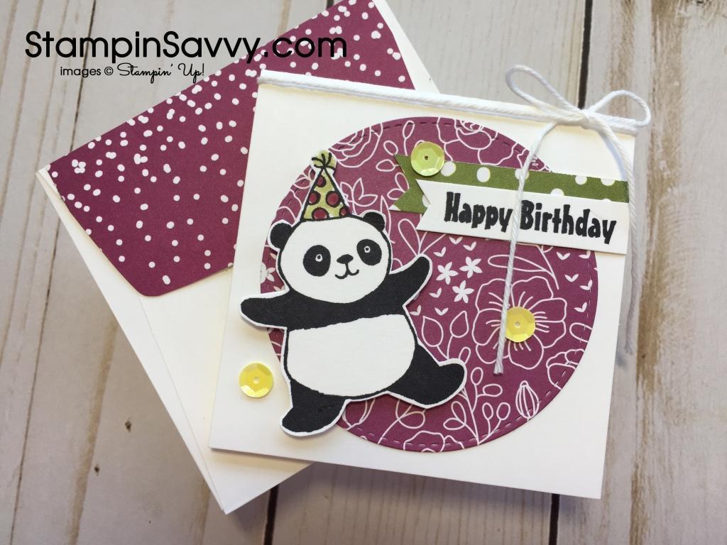 Sale-A-Bration favorites Party Pandas