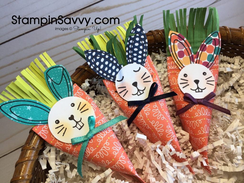 Easy & Quick treat holders - carrots