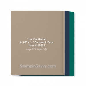 true gentleman cardstock pack item #145595