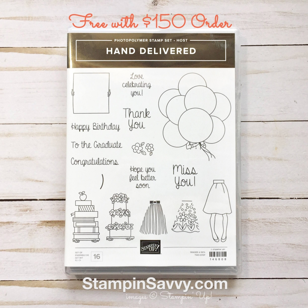 hand delivered stampinup stampin up stampin savvy