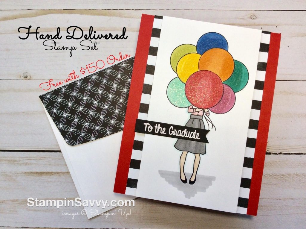 graduation card stampin up