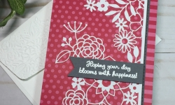 delightfully detailed card idea stampin up stampin savvy