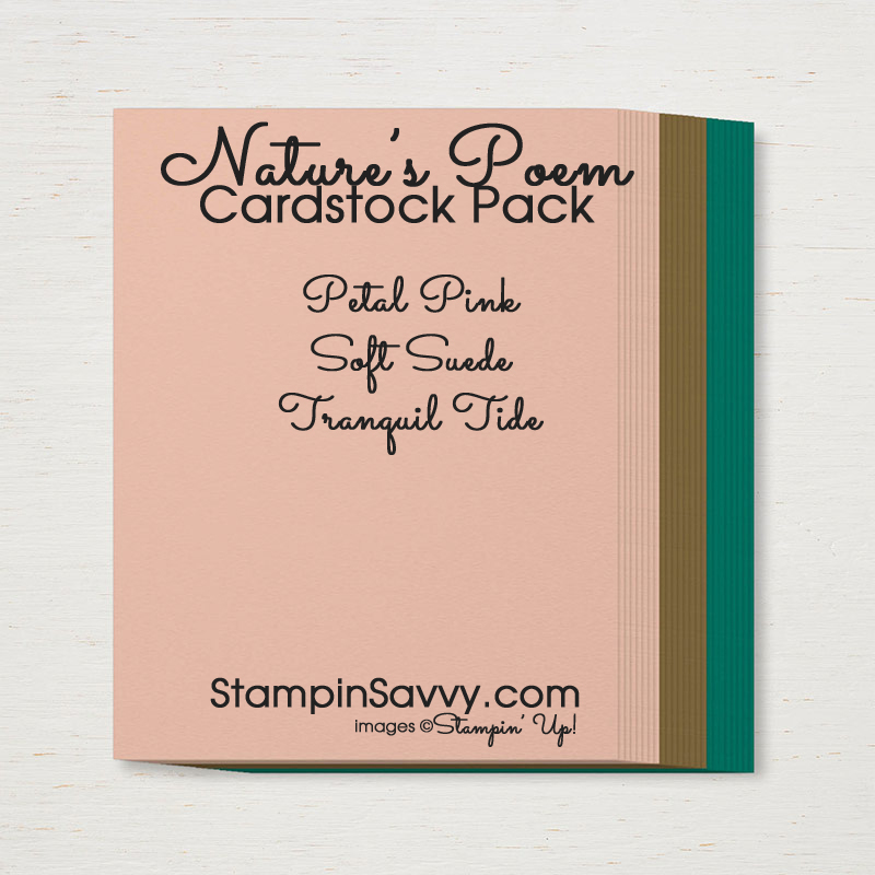natures poem cardstock pack stampinup stampin up stampinsavvy stampin savvy