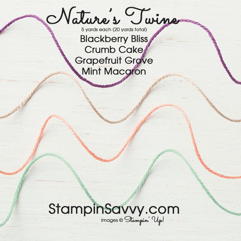 natures twine stampinup stampin up stampinsavvy stampin savvy