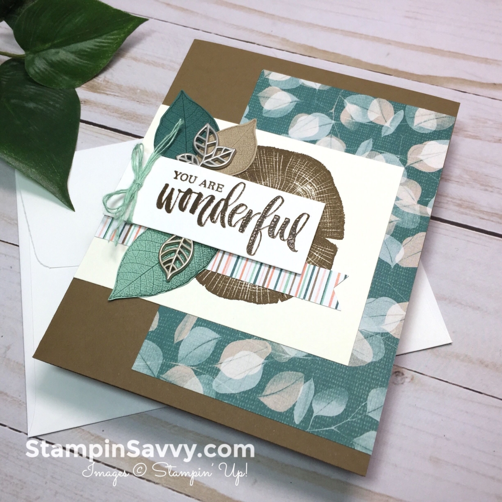 rooted in nature bundle stampinup stampin up stampin savvy stampinsavvy tammy beard
