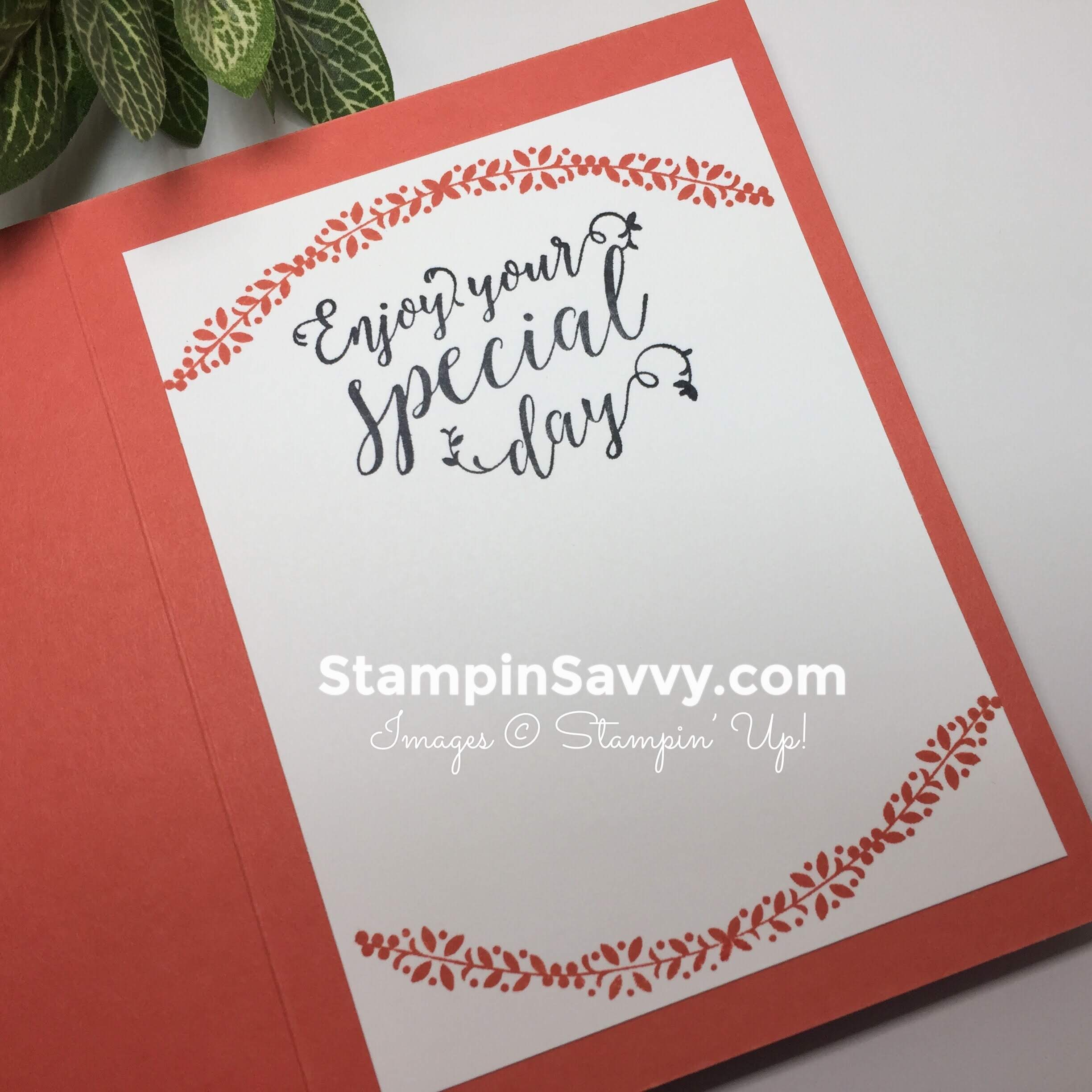 su graceful glass, card ideas, inside, stampin up, stampinup, stampin savvy, stampinsavvy, tammy beard