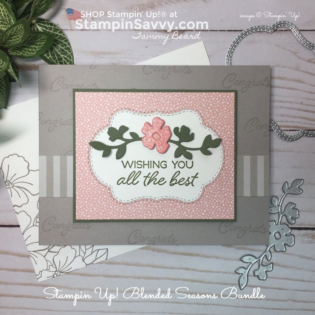 blended seasons bundle, stampin up, card ideas, stampinup, stampin savvy. tammy beard