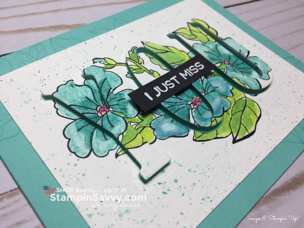blended seasons card, card ideas, stampin up, close up, stampinup, stampin savvy, tammy beard