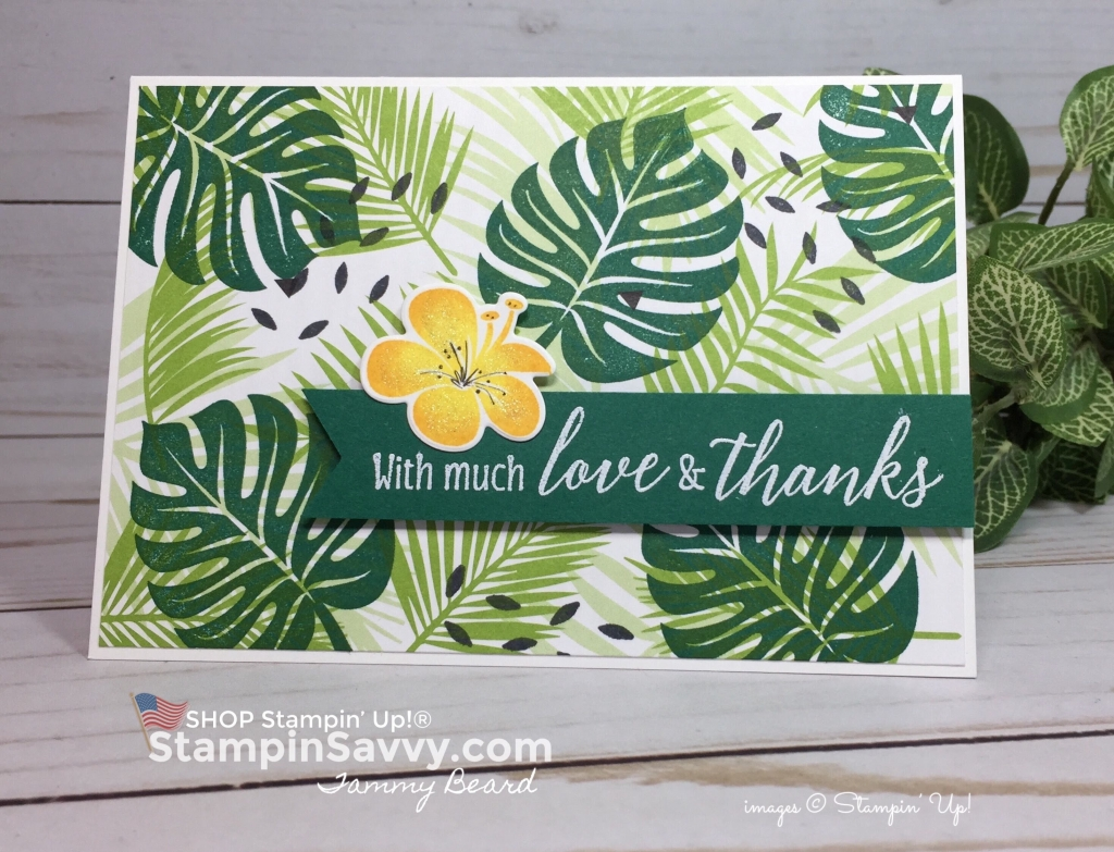 tropical escape cards, stampin up, card ideas, stampinup, stampin savvy, 2, tammy beard