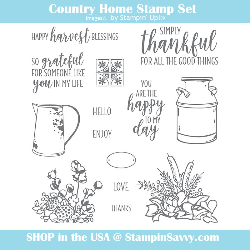 147678 country home stamps, stampin up, stampin savvy, tammy beard
