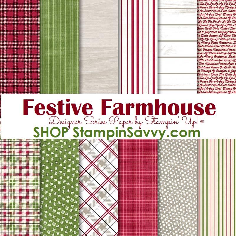 festive farmhouse dsp, stampin up, stampin savvy, 147820, tammy beard