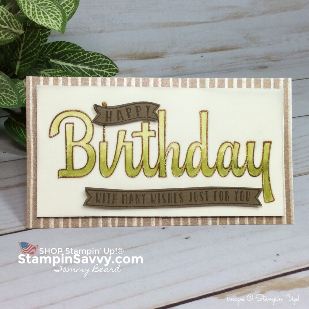 frosted floral card, masculine birthday card, birthday wishes for you, frosted floral dsp, stampin up, stampinup, stampin savvy, tammy beard