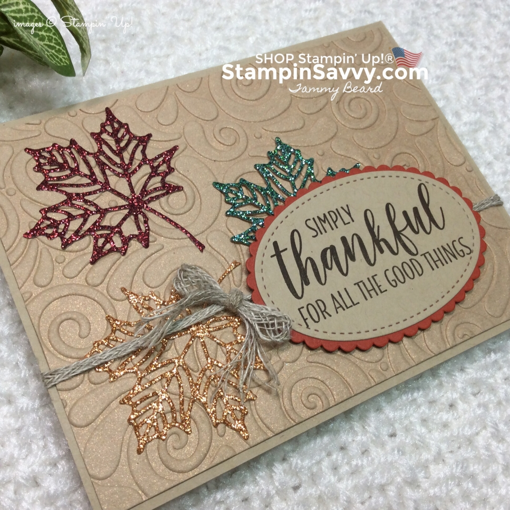 stampin up fall cards, country home, seasonal layers, stampinup, stampin savvy, tammy beard