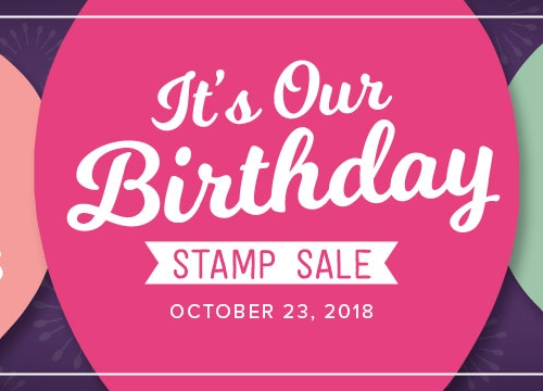 stampin up 15% off one day sale