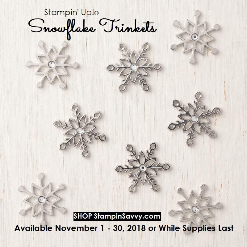 149620, snowflake trinkets, stampin up, stampinup, stampin savvy, tammy beard