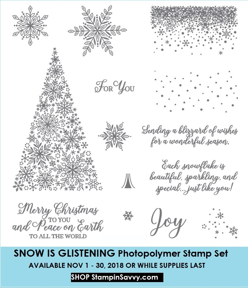149742, snow is glistening, stampin up, stampinup, stampin savvy, tammy beard
