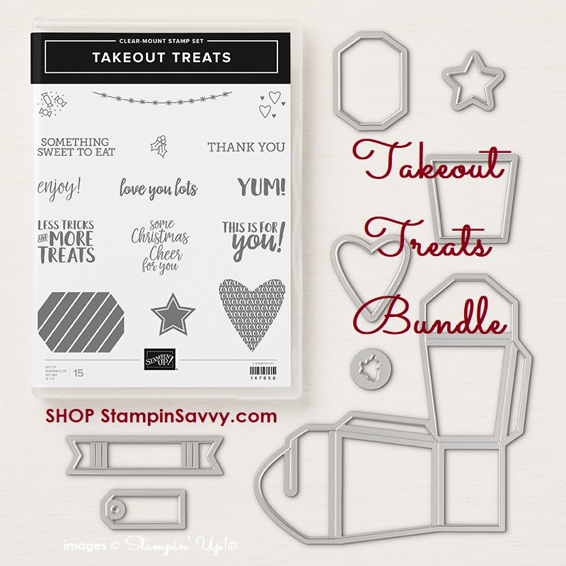 149990, takeout treats bundle, stampin up, stampinup, stampin savvy, tammy beard