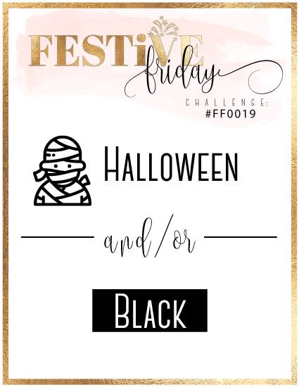 festive friday challenge halloween or black