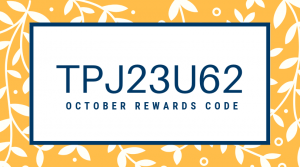 stampinsavvy october rewards code tpj23u62