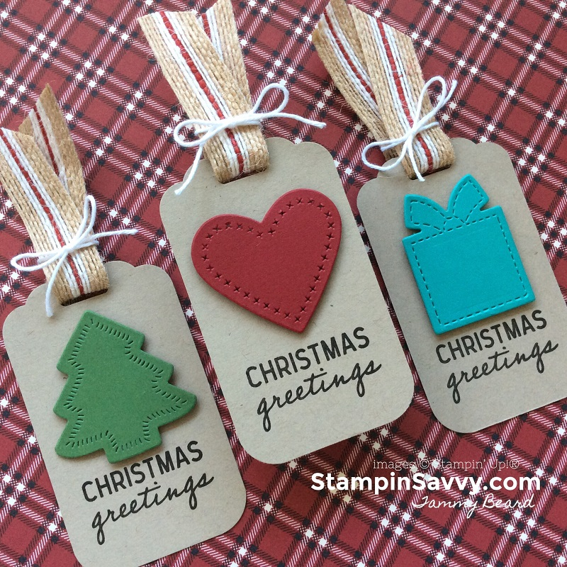 nothing sweeter bundle, christmas gift tag ideas, stampin up, stampin savvy, stampinup, tammy beard