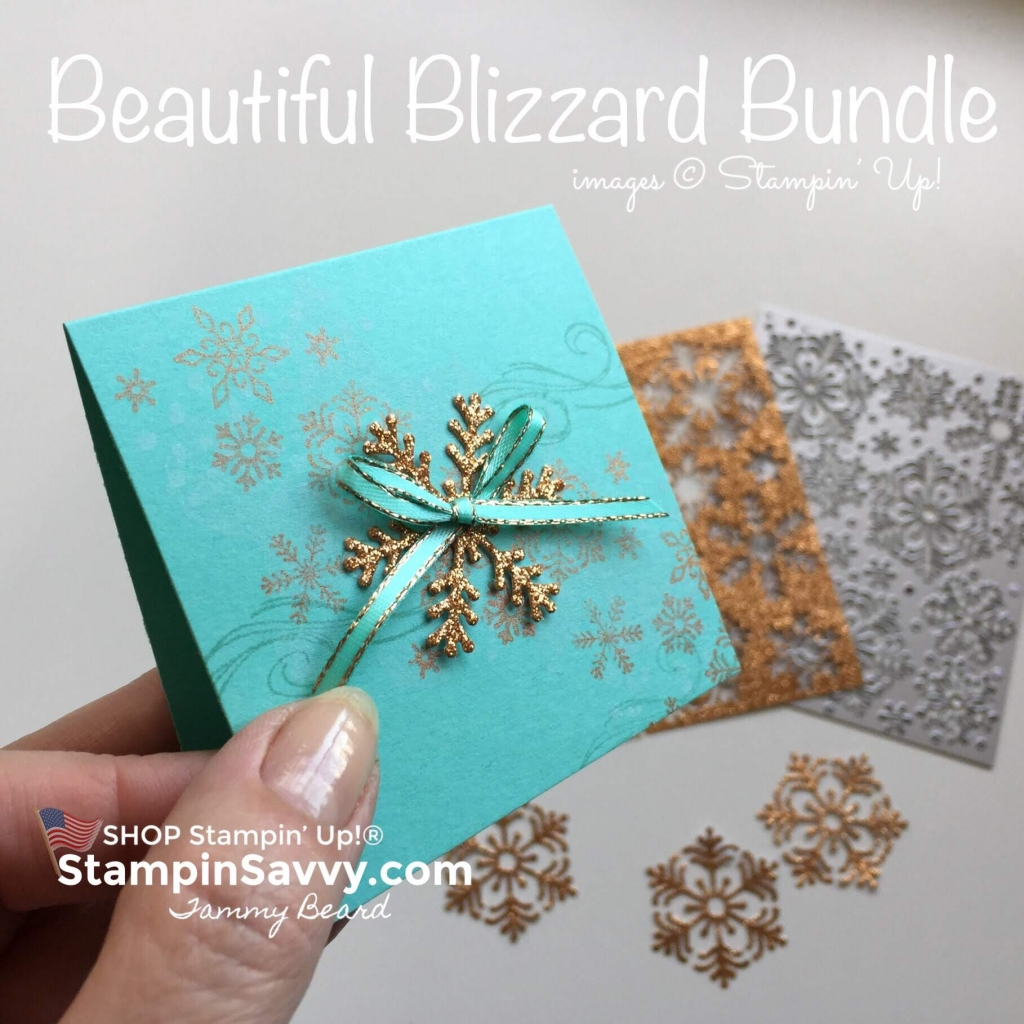 shimmer paint, bright copper shimmer paint, stampin up, beautiful blizzard, stampin savvy, tammy beard