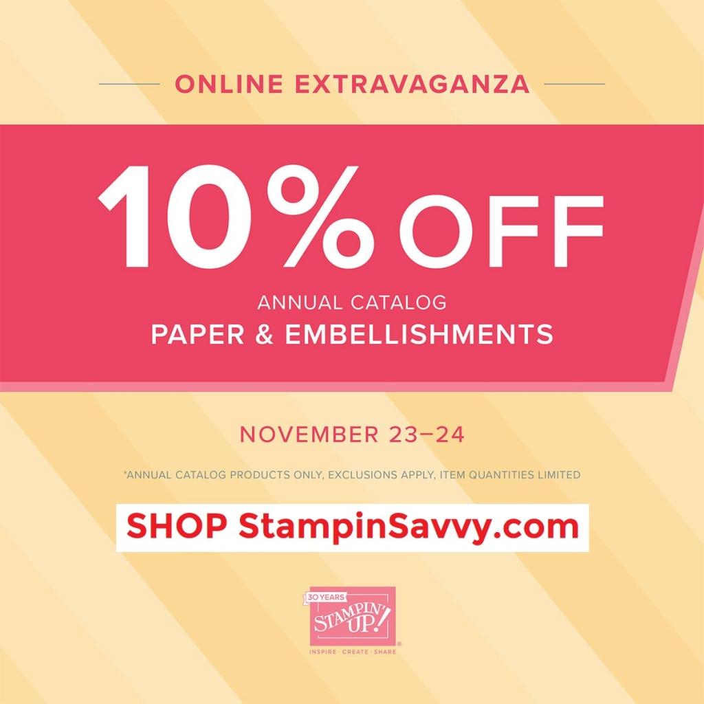 Online Extravaganza Nov 23, 24 2018