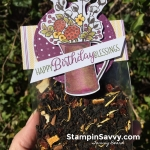 diy birthday gift for tea lovers, country lane dsp, country home, stampin up, stampinup, stampin savvy, tammy beard