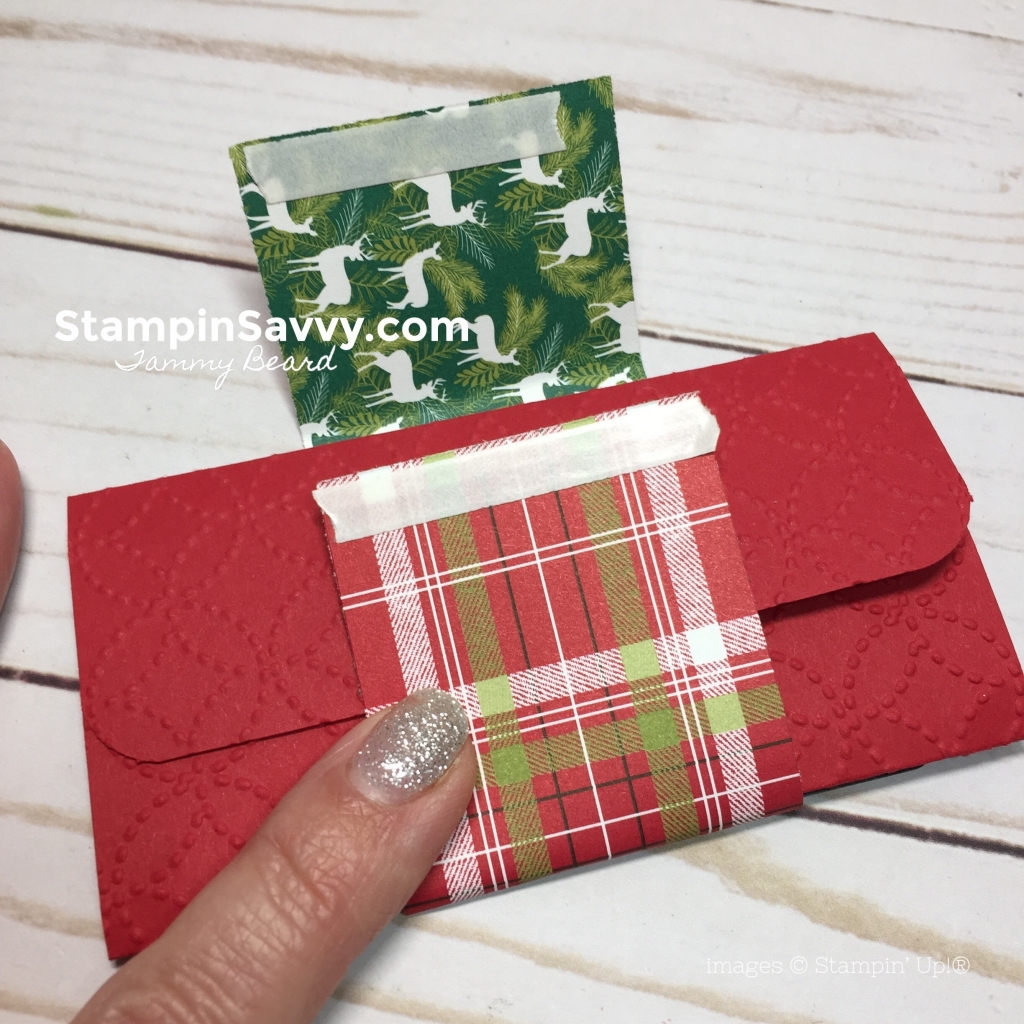 pop up gift card holder, festive farmhouse belly band, stampin up, stampinup, stampin savvy, tammy beard
