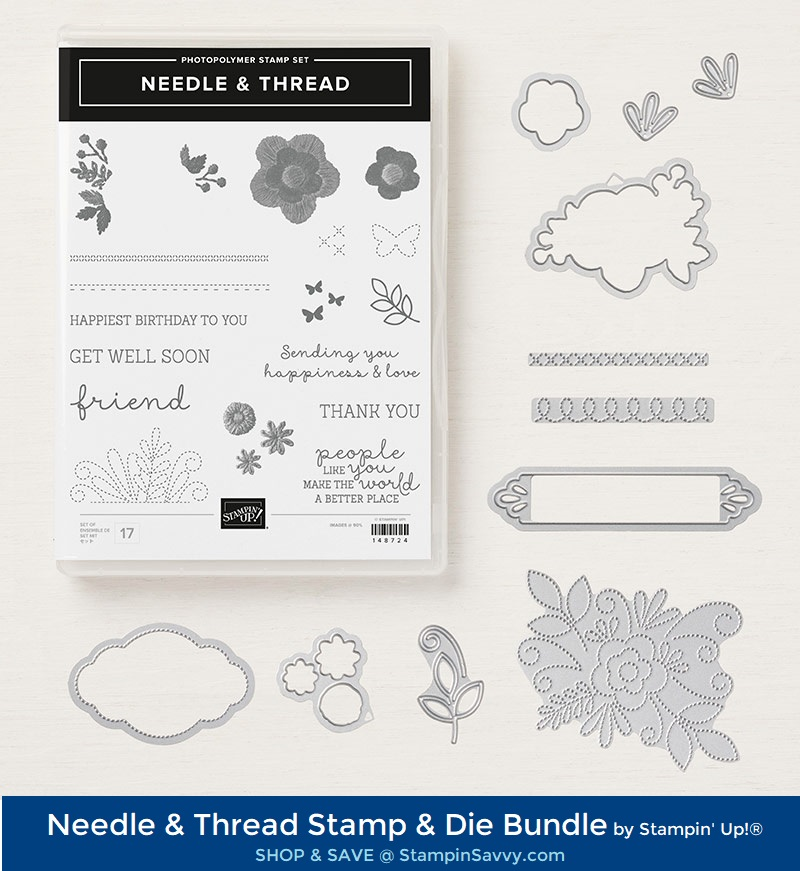 150626, needle and thread bundle, stampin up, stampin savvy, tammy beard
