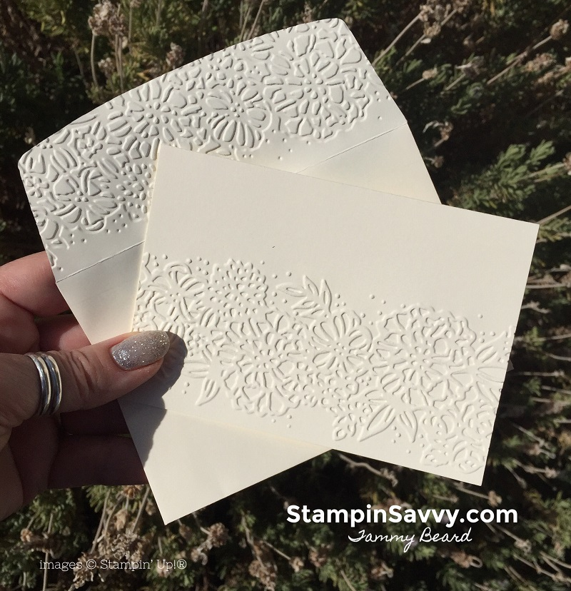 handmade-note-cards-embossed-petal-pair-embossing-folder-stampin-up-stampin-savvy-stampinup-tammy-beard