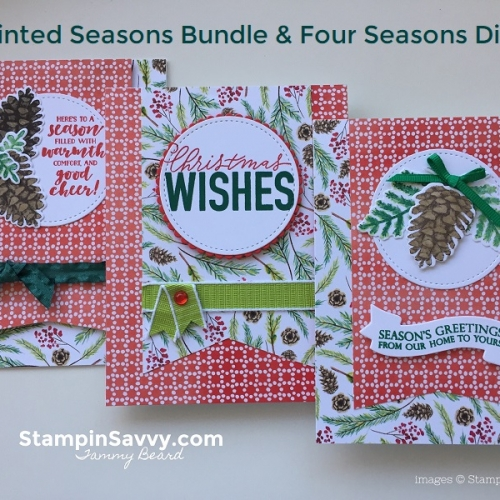 Holiday Cards Archives - Stampin' Savvy