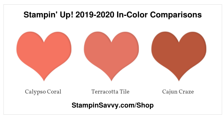 Stampin' Up! 2019-2020 In-Color Comparisons (1)