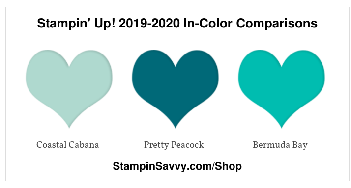 Stampin' Up! 2019-2020 In-Color Comparisons (2)