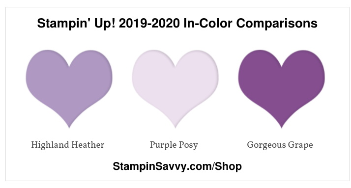 Stampin' Up! 2019-2020 In-Color Comparisons (4)