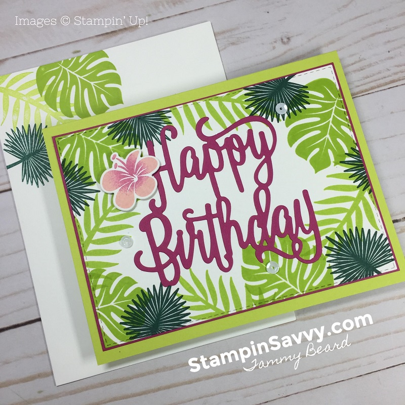 TROPICAL-CHIC-BIRTHDAY-CARDS-STAMPIN-SAVVY-CARD-IDEAS-TAMMY-BEARD-STAMPIN-UP-STAMPINUP1