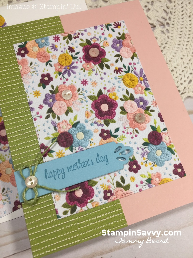 SWEET-SIMPLE-MOTHERS-DAY-CARD-IDEA-NEEDLEPOINT-NOOK-NEEDLE-THREAD-STAMPIN-SAVVY-TAMMY-BEARD-STAMPIN-UP-STAMPINUP