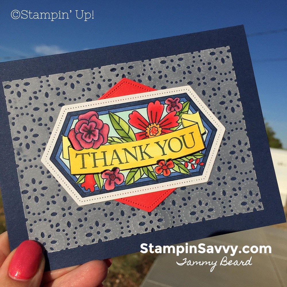 BELIEVE-YOU-CAN-CARD-STITCHED-LACE-THANK-YOU-CARD-TAMMY-BEARD-STAMPIN-SAVVY-STAMPIN-UP-STAMPINUP