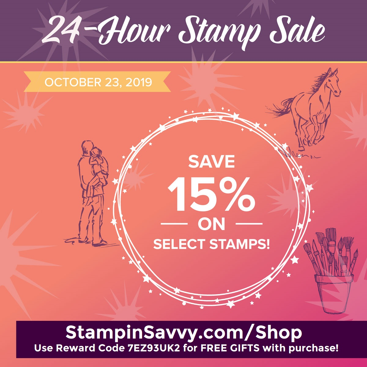 Stampin Up Flash Sale 10-23-2019