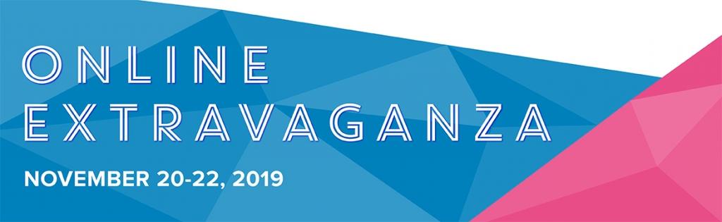 Online Extravaganza Sale October 20-22, 2019