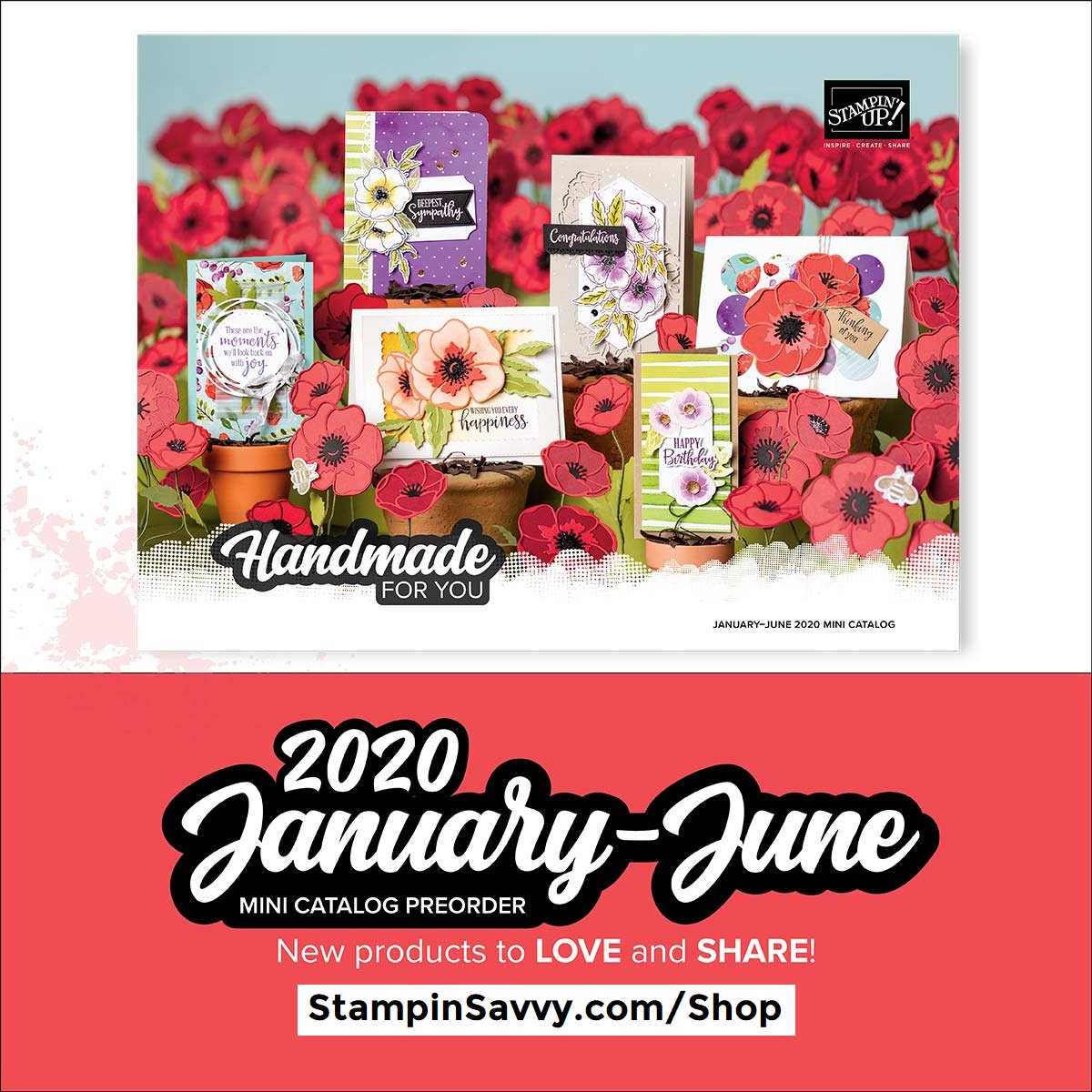 2020 Stampin' Up! January-June Mini Catalog