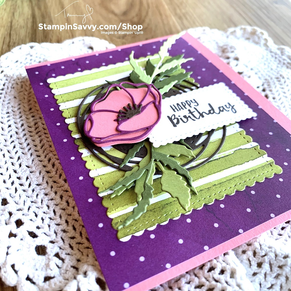 PEACEFUL-POPPIES-SUITE-BIRTHDAY-CARD-TAMMY-BEARD-STAMPIN-SAVVY-STAMPIN-UP-1