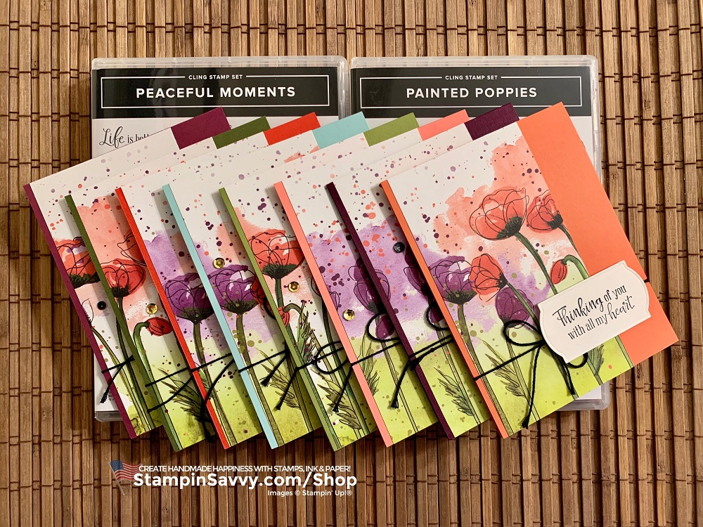 PEACEFUL-POPPIES-SUITE-PAINTED POPPIES-PEACEFUL-MOMENTS-STAMPIN-UP-STAMMY-BEARD-STAMPIN-SAVVY