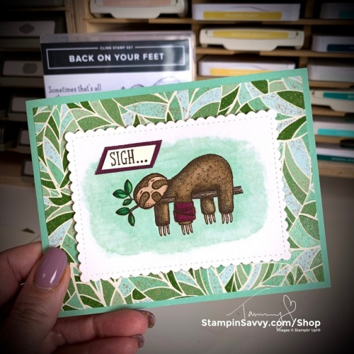 BACK-ON-YOUR-FEET-CARD-IDEA-TAMMY-BEARD-STAMPINSAVVY-STAMPINUP