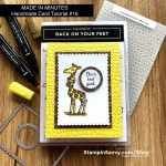 BACK-ON-YOUR-FEET-STITCHED-SO-SWEETLY-HAMMERED-METAL-CARD-IDEAS-TAMMY-BEARD-STAMPINSAVVY-STAMPINUP