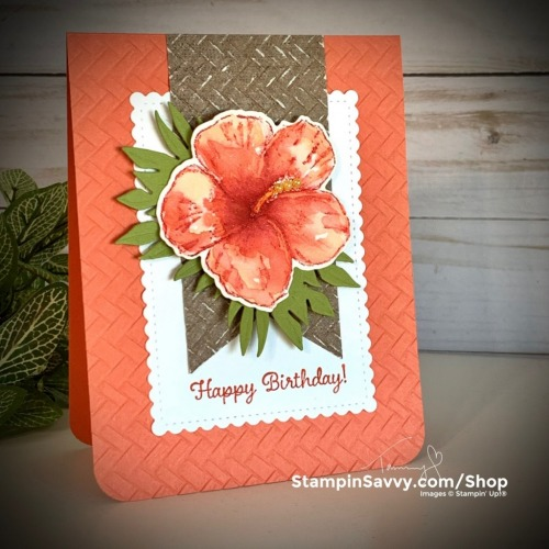 HANDMADE-TROPICAL-CARD-TIMELESS-TROPICAL-IN-THE-TROPICS-STITCHED-SO-SWEETLY-TAMMY-BEARD-STAMPIN-SAVVY-STAMPIN-UP-1