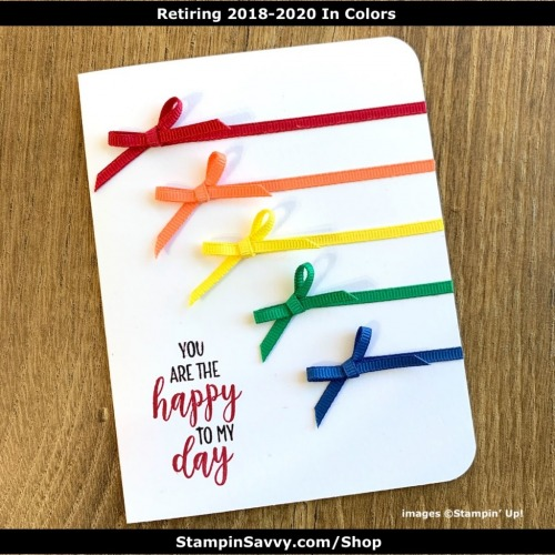 RETIRING 2018-2020 IN COLORS TAMMY BEARD-STAMPIN SAVVY